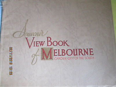 Out Of My Collection -Souvenir View Book Of Melbourne