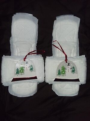 Kotex Maxipad Slippers White Elephant Prank Gag Gift Dirty Christmas