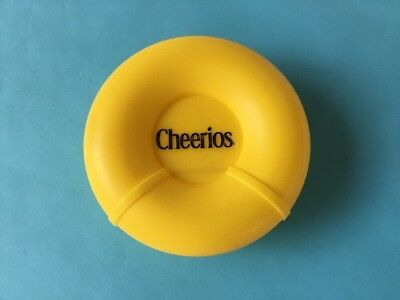 Cheerios Snack Container, Holds 1 Cup of Cereal travel cereal keeper snap lid