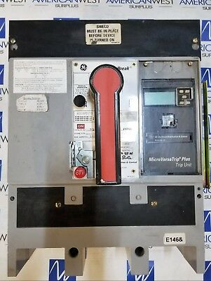 General Electric GE TP1616TTR 1600AMP C216LSI LSI Functions TR16B1600 GOOD