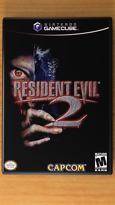 Resident Evil 2 - Gamecube - Replacement CASE *NO GAME*
