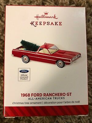 2014 Hallmark Ornament 1968 Ford Ranchero GT - All American Trucks