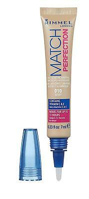 Rimmel - Match Perfection 2 in 1 Concealer & Highlighter - 010 Ivory -
