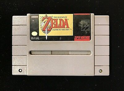 The Legend of Zelda A Link to the Past Super Nintendo Game