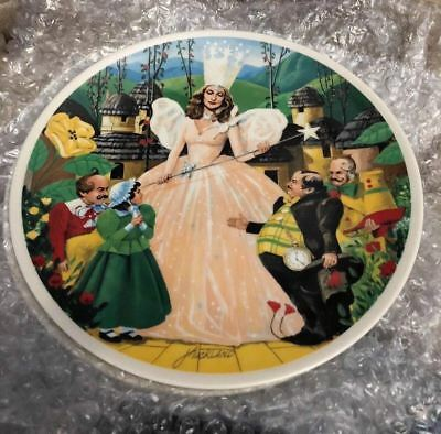 Wizard of Oz 1979  Knowles Plate FOLLOW THE YELLOW BRICK ROAD 16992C MGM  EUC