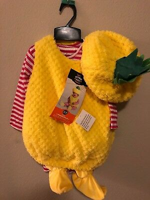 69e531d87 INFANT BABY PINEAPPLE Costume 12-18 Months NEW Hyde and Eek Target ...