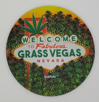 """Welcome Novelty DabPadz Mouse Pad Dab Mat 8"""" Fast Shipping"""