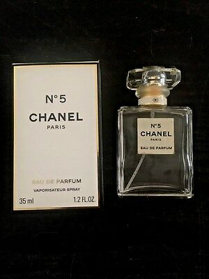 CHANEL NO 5 Empty bottle and box 35ml
