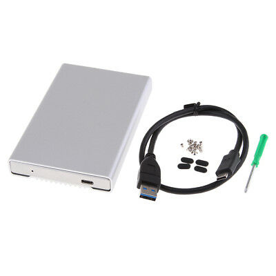 2.5'' Type-C USB3.0 5G External HDD Hard Drive Disk Enclosure Case Cover