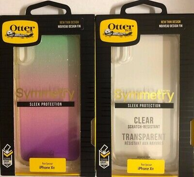 Authentic iPhone  XR OtterBox Symmetry Series Case Clear New