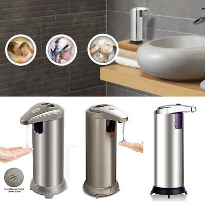Automatic Touchless Countertop Liquid Soap Dispenser With IR Sensor Kitchen Home