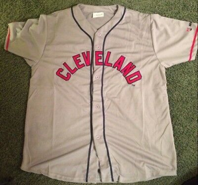 outlet store d2a87 2b2db amazon cleveland indians 29 satchel paige 1948 gray wool ...