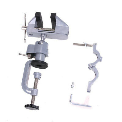 Universal 360° Swivel Table Vice Die Cast Portable Bench Vise Clamp Aluminum Hot