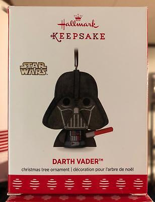 Darth Vader Wooden Hallmark Keepsake Ornament 2017 Disney 2018 RETIRED Star Wars