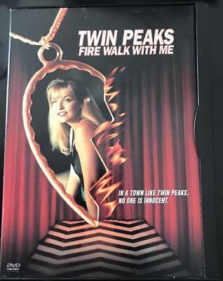 TWIN PEAKS FIRE WALK WITH ME R1 DVD Rare Snap Case Edition David Lynch