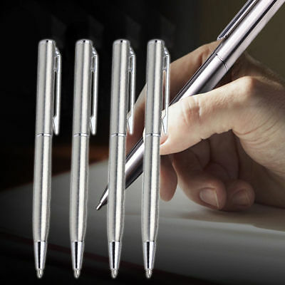 Metal Ballpoint Pen Office Business Signature Stainless Steel Rod Rotating Gift