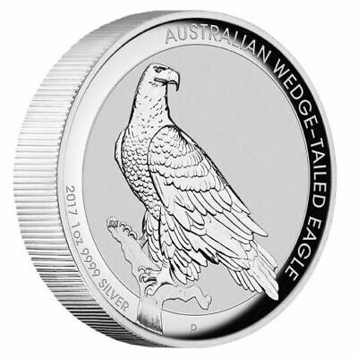 NEW Perth Mint Wedge-Tailed Eagle 2017 1oz High Relief Silver Coin