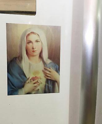 Mother Mary, Fridge Magnet 14 cm x 10.5 cm Religion, Religious