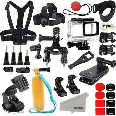 Kupton Accessories for GoPro Hero 7/6 / 5 Action Camcorder Camera Accessories