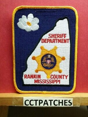 Rankin County, Mississippi Sheriff (Police) Shoulder Patch Ms