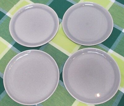 Russel Wright American Modern Steubenville Lunch/Salad/Cake Plates, Set of 4