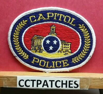 Tennessee Capitol Police Shoulder Patch Tn