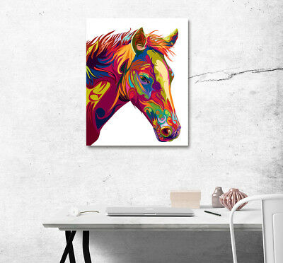 6049.Black.horse.grass.field.sky.galloping.POSTER.Decoration.Graphic