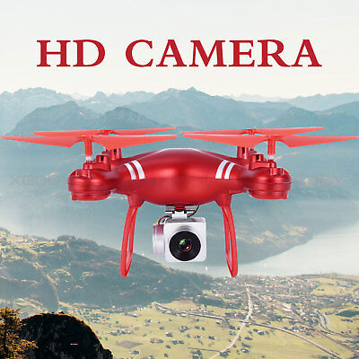 HD Camera FPV KY101 RC Quadcopter 2.4Ghz 4CH 6-Axis APP WiFi Drone Altitude Hold