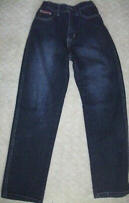 BOY'S OR GIRL'S SIZE 26 (10ish) JEANS  MEASUREMENTS WITHIN. EUC.  + postage disc