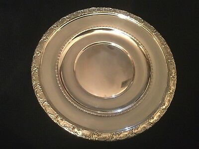 "Vintage Reed & Barton Sterling Silver 8"" Plate X530"