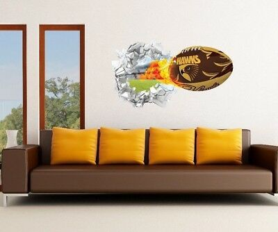 AFL 3D Removable Wall Decals