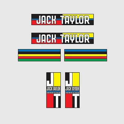 Transfers 0822 Jack Taylor Tandem Bicycle Stickers Decals