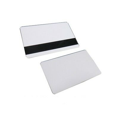 50 Pcs Mag Strip Inkjet PVC Blank ID Cards HiCo Matte Epson Canon Magnetic