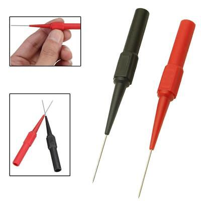 2Pcs/set Insulation Piercing Needle Non-destructive Test Probes Red and Black