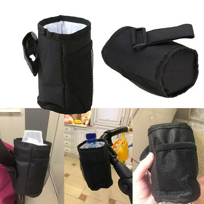 Stroller Cup Holder Cup Organizer Bag Milk Bottle Rack for Pushchair Buggy Car