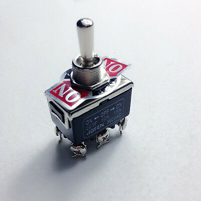 1piece   6-Pin Toggle DPDT ON-OFF-ON Momentary Switch 15A 250V