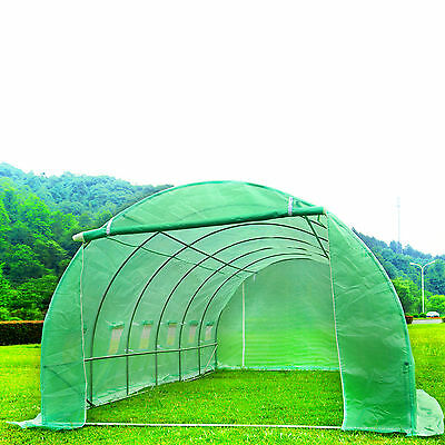 6M X 3M Fully Galvanised Steel PolyTunnel Frame Greenhouse Pollytunnel Tunnel