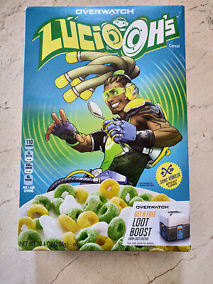 Lucio-Oh's Lucio Cereal Overwatch BlizzCon 2018 w/ LOOT BOOST FREE SHIPPING
