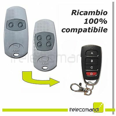 Remote control Key4 compatible Came TOP 432 EE TOP434EE 433,92 Mhz gate opener