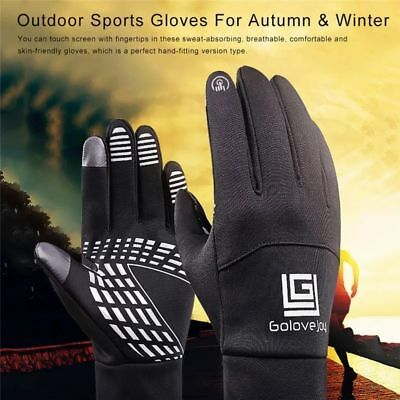 Mens/ladies Running gloves for winter,4 sizes S,M,LXL,touchscreen,black or pink