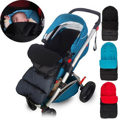 2-in-1 Winter Warm Baby Stroller Foot Muff Buggy Pushchair Pram Whole Body Cover
