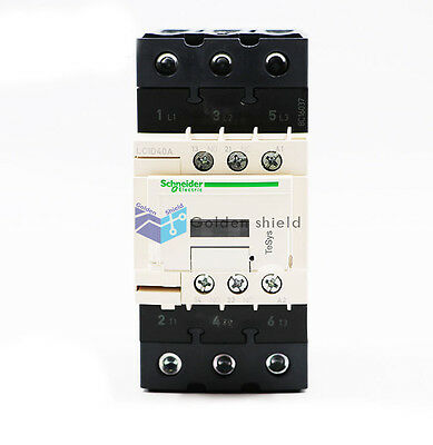 Schneider LC1D40AB7C AC Contactor 40A AC24V New in box