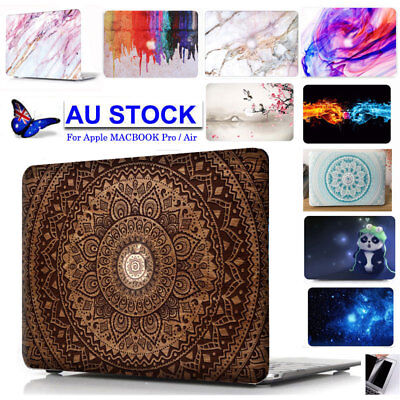 "Mandala Macbook Pro 13"" 15"" Retina 2012-2018 Hard Case Rubberized Keyboard Cover"