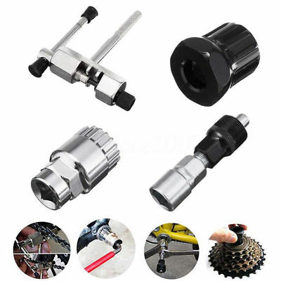 4in 1 Mountain Bike Bicycle Crank Chain Axis Extractor Removal Repair Tool Set
