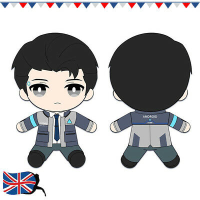 Detroit: Become Human Connor RK800 Plush Stuffed Pillow Doll Cushion Kids Toy