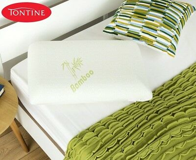 Tontine Comfortech Memory Foam Pillow With Bamboo Cover, Medium