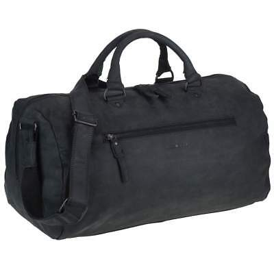 Greenburry - Vintage Revival Black - Leder Reisetasche