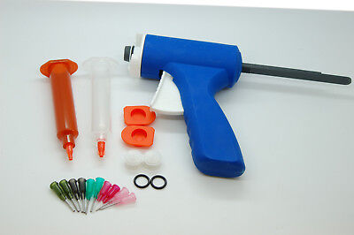 10Ml / 10Cc Syringe Dispensing Gun, Manual Glue Gun, Fly Fishing Uv Glue Gun Set