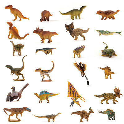 24Pcs Littel Tyrannosaurus Allosaurus Figure Dinosaur Model Collector Toy Gift