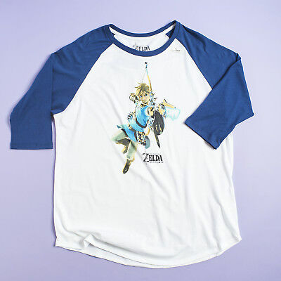 LEGEND OF ZELDA: BREATH OF THE WILD Baseball T-Shirt (LARGE) Loot Wear Wearable